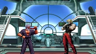getlinkyoutube.com-[KOF Mugen] Mr.Karate vs Omega Rugal (미스터 가라데 vs 오메가 루갈)