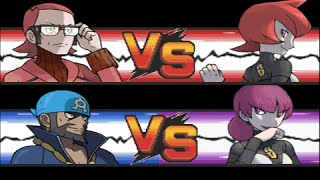 getlinkyoutube.com-Pokemon: Archie & Maxie VS Mars & Jupiter