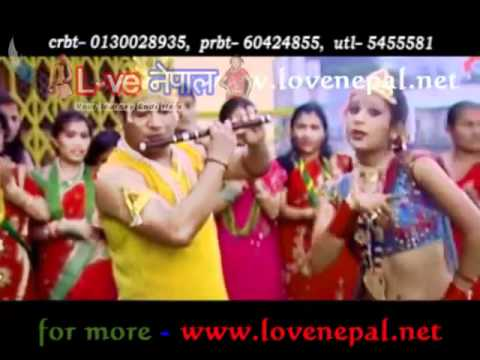 Nepali Teej Song 2012 JANCHAU BHANE MAYALU UPLOAD BY YAMLAL KHANAL PALUKHA -9 GULLMI