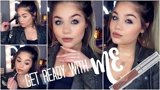 getlinkyoutube.com-Get Ready With Me | Quick Glam 5 minute Makeup | Blissfulbrii