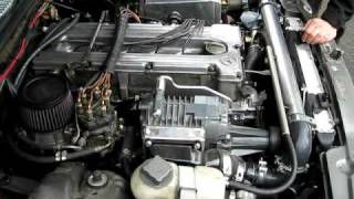 getlinkyoutube.com-Supercharged Mersedes W116 burnout