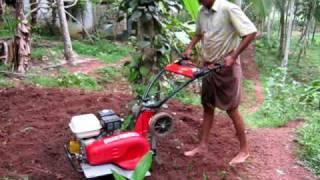 getlinkyoutube.com-Kamco Kerala Garden Tiller or Kamco Garden Triller