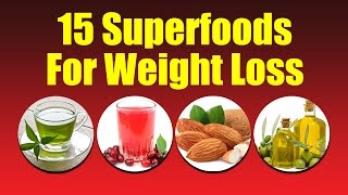 getlinkyoutube.com-15 Superfoods For Weight Loss