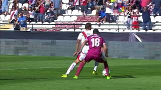 RAYO VALLECANO, 4; REAL VALLADOLID, 1 (LIGA 17/18, JORNADA 8, 08-10-2017)