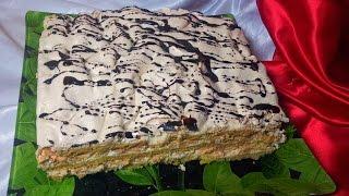 getlinkyoutube.com-Торт - Воздушный Сникерс (Cake - Air Snickers). Торт-безе