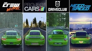getlinkyoutube.com-DriveClub vs. Need For Speed vs. The Crew vs. Project CARS | Graphics, Rain & Weather Comparison PS4