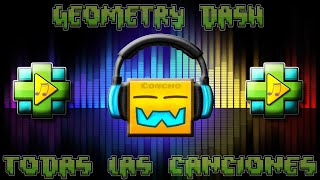 getlinkyoutube.com-TODAS LAS CANCIONES DE GEOMETRY DASH!!