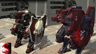 getlinkyoutube.com-War Robots Test Server [2.6.1] New Skins for Galahad/Gareth and Gameplay