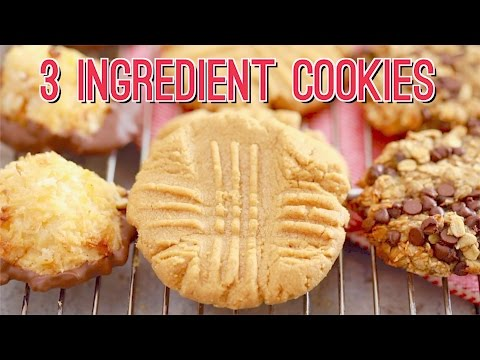 3 Ingredient Cookies: Three AMAZING Recipes!!! Gemma's Bigger Bolder Baking Ep 173