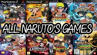 getlinkyoutube.com-ALL NARUTO Games For PLAYSTATION (2003-2014)