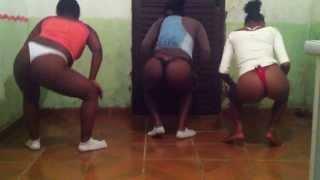 Novinhas Dançando Sarra Novinha no Grau