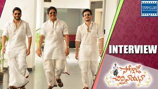 getlinkyoutube.com-Soggade Chinni Nayana interview - Akkineni Soggallu - Nagarjuna, Naga Chaitanya, Akhil | TFPC