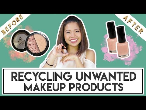 RECYCLING UNWANTED MAKEUP PRODUCTS | PrettySmart EP: 103