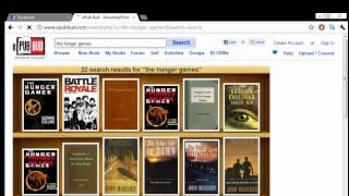 getlinkyoutube.com-How to download eBooks for PC