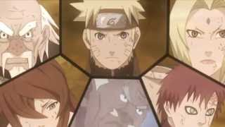 getlinkyoutube.com-Madara vs Naruto & Kages [AMV] Diamond Eyes