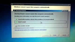 getlinkyoutube.com-Windows 7 Start up Problem