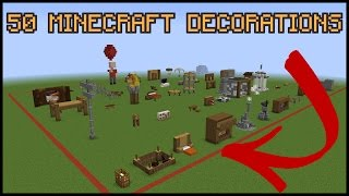 getlinkyoutube.com-50 Minecraft Decoration Ideas!