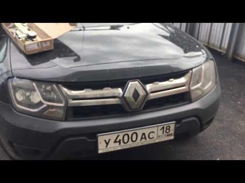 Проверка стеклоподъемников Форвард на Renault Duster