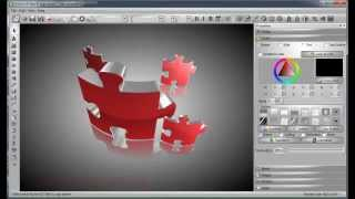 Create 3D Logo with Aurora 3D Text & Logo Maker