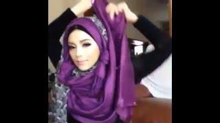 🌟Hijab Tutorial-11🌟 Cara Memakai Jilbab Pashmina dengan 2 Cover Ciffon (Up to date)