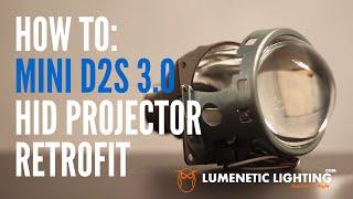 getlinkyoutube.com-How to Mini D2S 3.0 Projectors DIY H4 9003 HID Install - 2002 Honda CRV lumeneticlighting.com