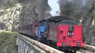 getlinkyoutube.com-Zig Zag Railway Steam Up 2004
