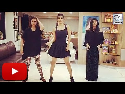 Divyanka Tripathi – Ekta Kapoor – Mouni Roy – Television babes Dancing on Beasts pe Booty Song – HD Videos
