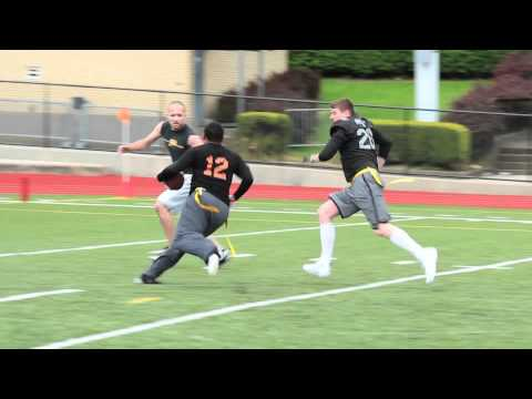 Pittsburgh Flag Football League Spring 2012 Week 5 Highlights Pt. 1