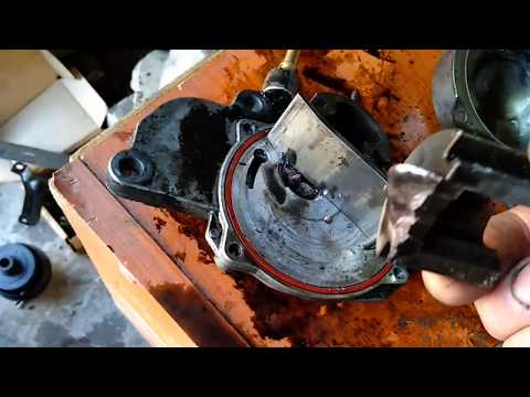 Opel Astra H Опель Астра Н 1.7cdti Z17DTR собираем двигатель сломанный вакуумный насос