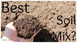 getlinkyoutube.com-Inexpensive Raised Bed Soil Mix - Fill your Garden for less.