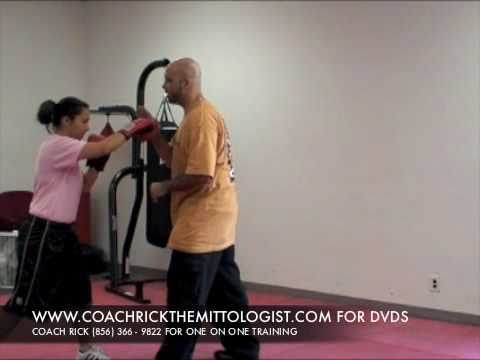 Coach Rick Boxing Focus Mitt Tutorial Mayweather Boxing Mittwork Training &amp; Pad Workout -oanNcyDriII