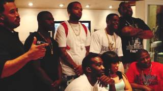 "Lil Boosie & K Michelle behind the scenes recording ""Show The World"" Remix"