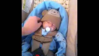 getlinkyoutube.com-How to make my reborn look real in a carseat