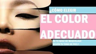 getlinkyoutube.com-Escoge el tono correcto de la base de maquillaje según tu tono de piel