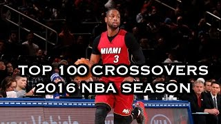 Top 100 Crossovers: 2016 NBA Season