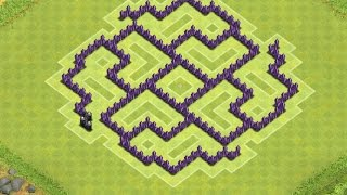 getlinkyoutube.com-Clash Of Clans | Best Town Hall 7 War Base ( th7 ) Speed build 2014