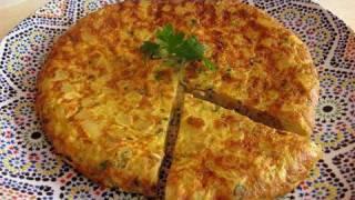 getlinkyoutube.com-Moroccan Tortilla Recipe - Ramadan Specials - CookingWithAlia - Episode 78
