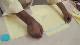 getlinkyoutube.com-How To Cut Blouse:Designer Saree-blouse Cutting Tutorial(Simple & Best Way)