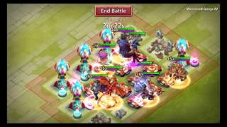 getlinkyoutube.com-Castle Clash / Royal Clash - Chaosschlucht IV testen & Insane Dungeon 4-6