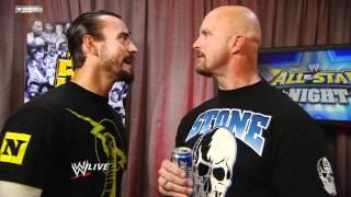 Raw: CM Punk confronts