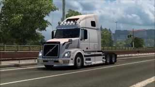 getlinkyoutube.com-[ETS2 v1.21] Volvo VNL 670 adapted for ETS2