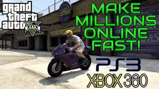 "getlinkyoutube.com-""GTA 5 Online: How to make MILLIONS fast"" (WORKS ON PS3 AND 360) ""GTA Online Unlimited Money Glitch"""