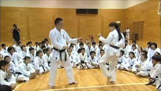 getlinkyoutube.com-剛柔流空手道 組手ゴールドセミナー荒賀知子のKARATE HIGH SPEED LESSON