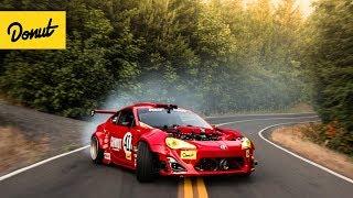 RIP GT-4586 : Ferrari-Powered Toyota drifts a Portland Touge width=