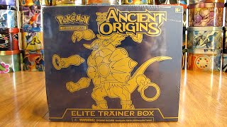 getlinkyoutube.com-Hoopa Ancient Origins Elite Trainer Box Opening