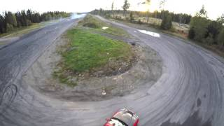 QAV250 and Nissan 200SX Driftsession