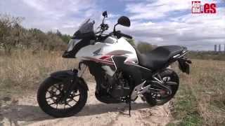 Prueba Honda CB 500 X