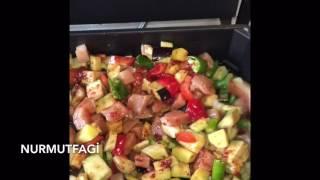 getlinkyoutube.com-Silex tavada türlü Kebabı Nasıl yapılır tarifi- Nurmutfagi