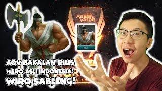 AoV BAKAL RILIS HERO ASLI INDONESIA? WIRO SABLENG! KERENN GILAK DAH!