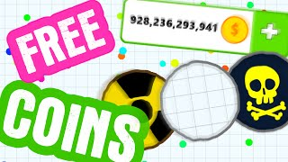 getlinkyoutube.com-How to get FREE COINS in Agario // Agar.io Update